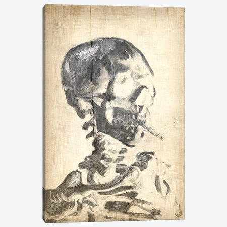 Skull of a Skeleton X Canvas Print #CML125} by 5by5collective Canvas Wall Art