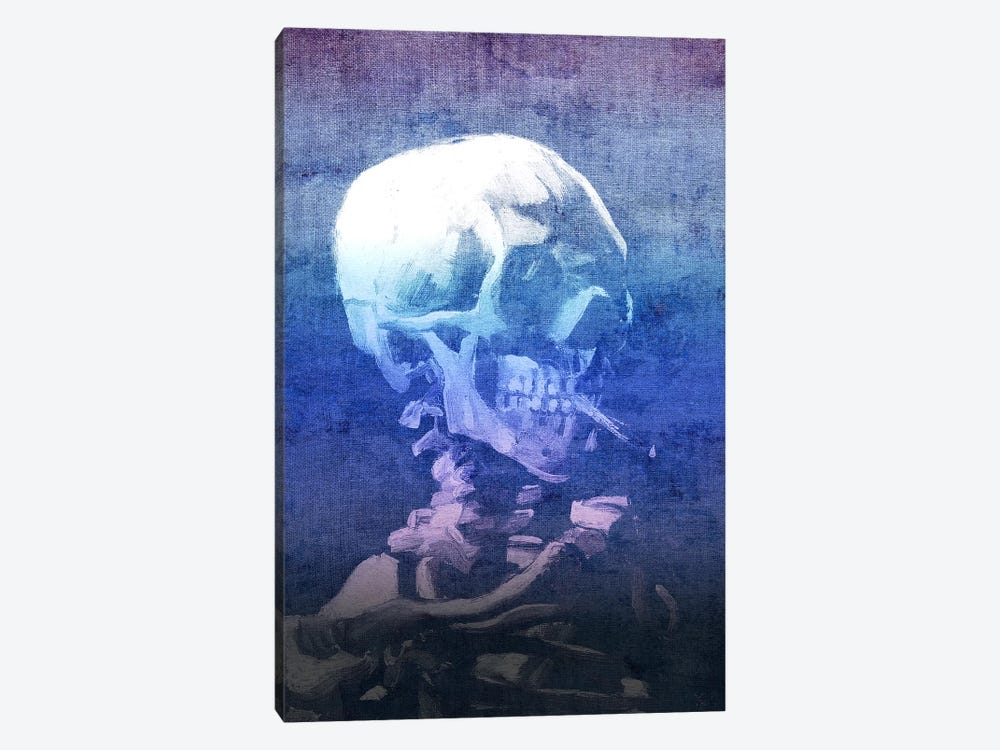 Skull of a Skeleton XI 1-piece Canvas Artwork