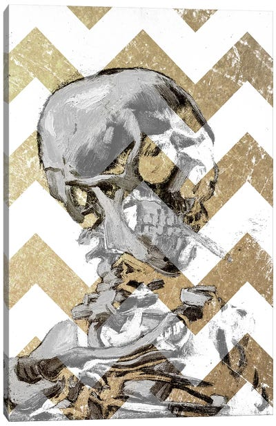 Skull of a Skeleton XII Canvas Print #CML127