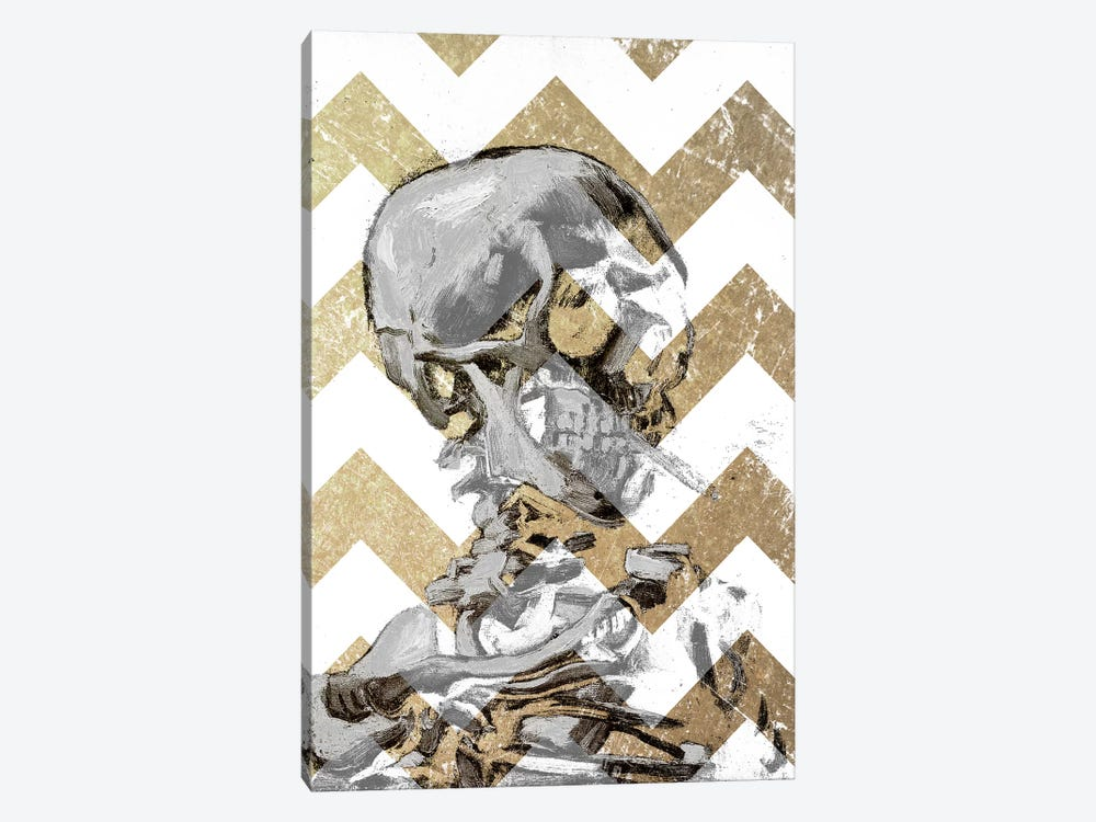 Skull of a Skeleton XII by 5by5collective 1-piece Canvas Print