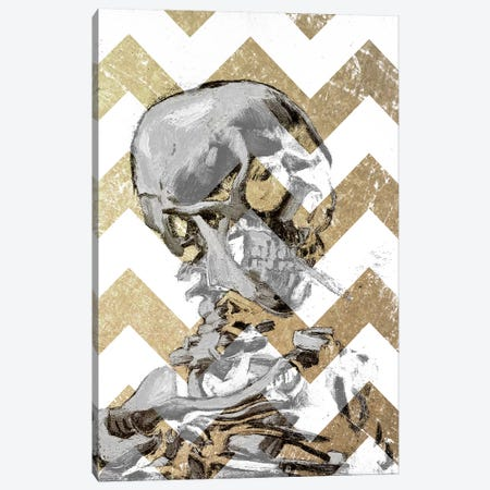 Skull of a Skeleton XII Canvas Print #CML127} by 5by5collective Canvas Art