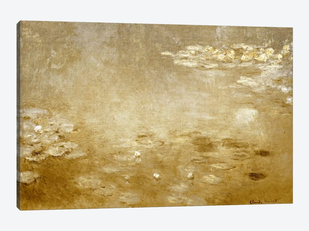 Waterlilies I by 5by5collective 1-piece Canvas Artwork