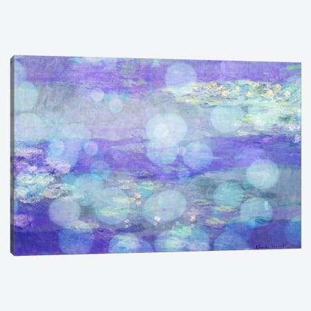Waterlilies II Canvas Print #CML129} by 5by5collective Art Print