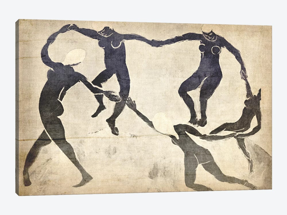 Dance V by 5by5collective 1-piece Canvas Art Print