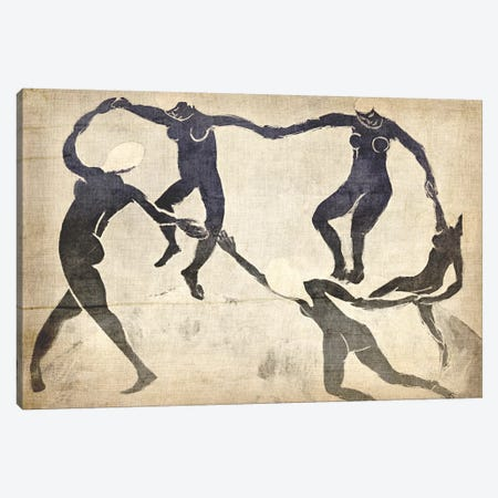 Dance V Canvas Print #CML12} by 5by5collective Art Print