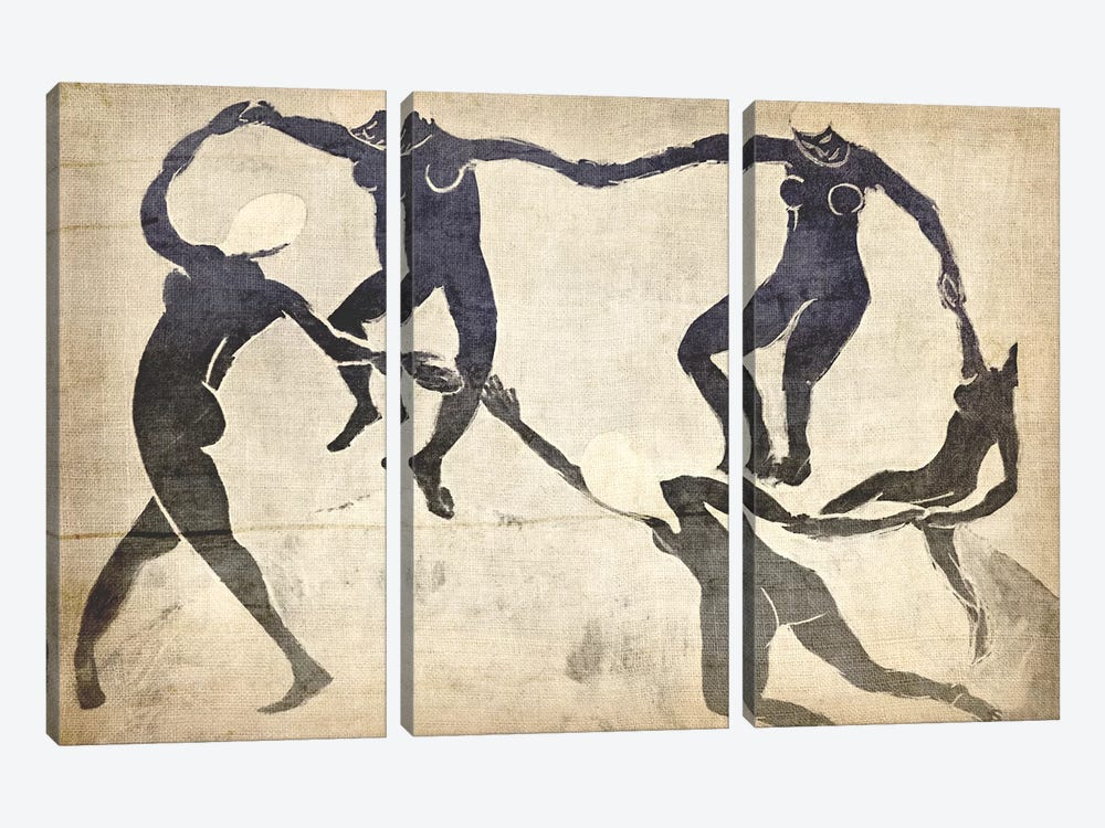 Dance V by 5by5collective 3-piece Art Print