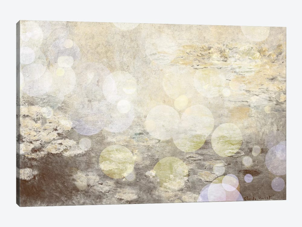 Waterlilies III by 5by5collective 1-piece Art Print