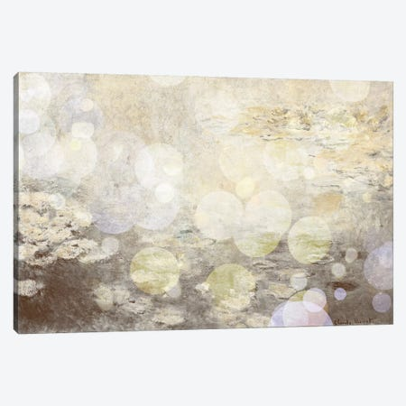 Waterlilies III Canvas Print #CML130} by 5by5collective Canvas Artwork
