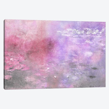 Waterlilies V Canvas Print #CML132} by 5by5collective Canvas Art