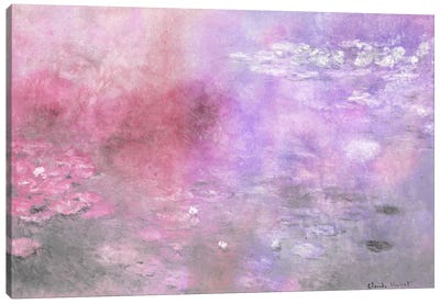 Waterlilies V Canvas Art Print