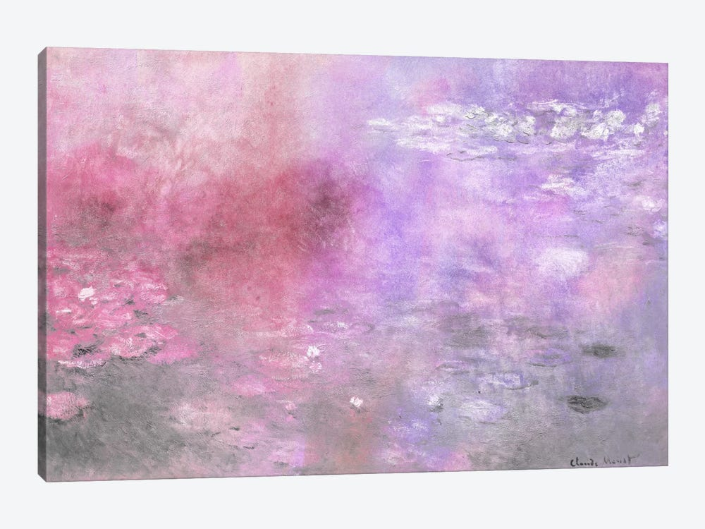 Waterlilies V by 5by5collective 1-piece Art Print