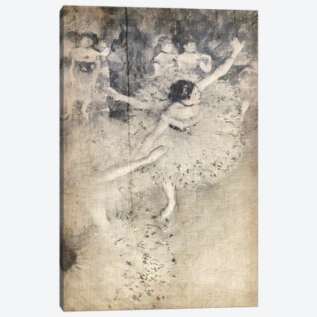 Green Dancer V Canvas Print #CML137} by 5by5collective Canvas Print