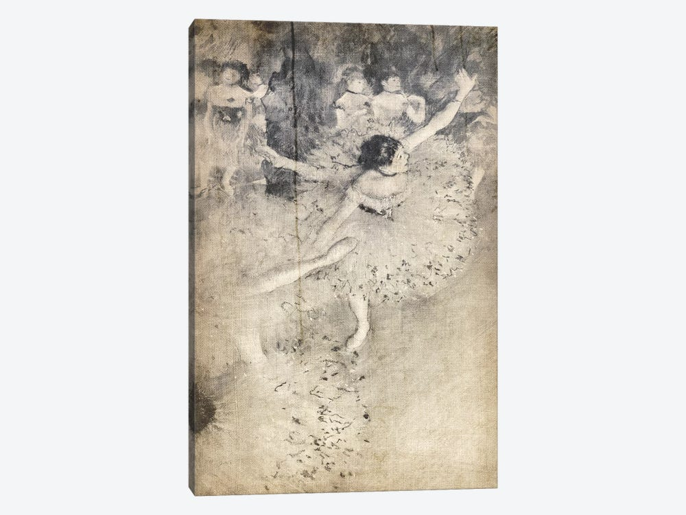 Green Dancer V by 5by5collective 1-piece Canvas Art