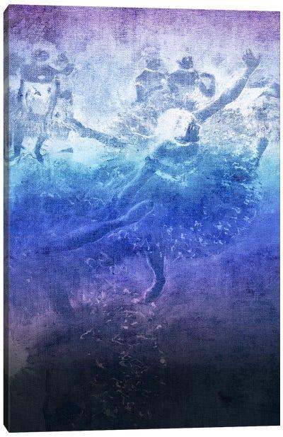 Green Dancer VI Canvas Print #CML138
