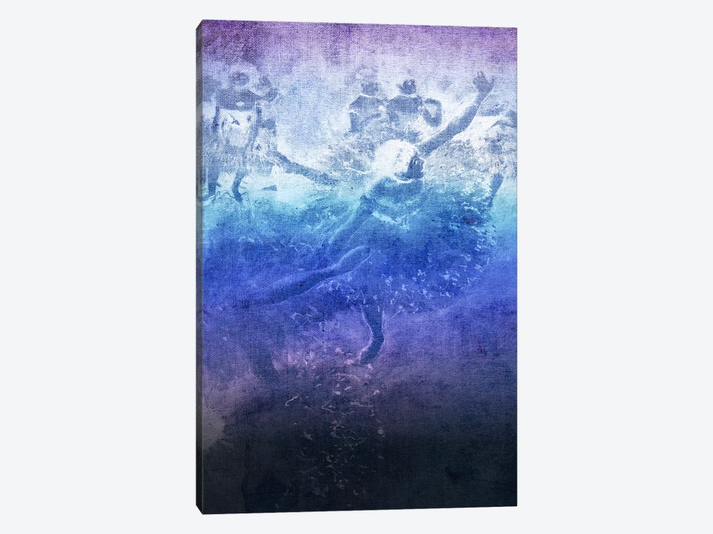 Green Dancer VI by 5by5collective 1-piece Canvas Print