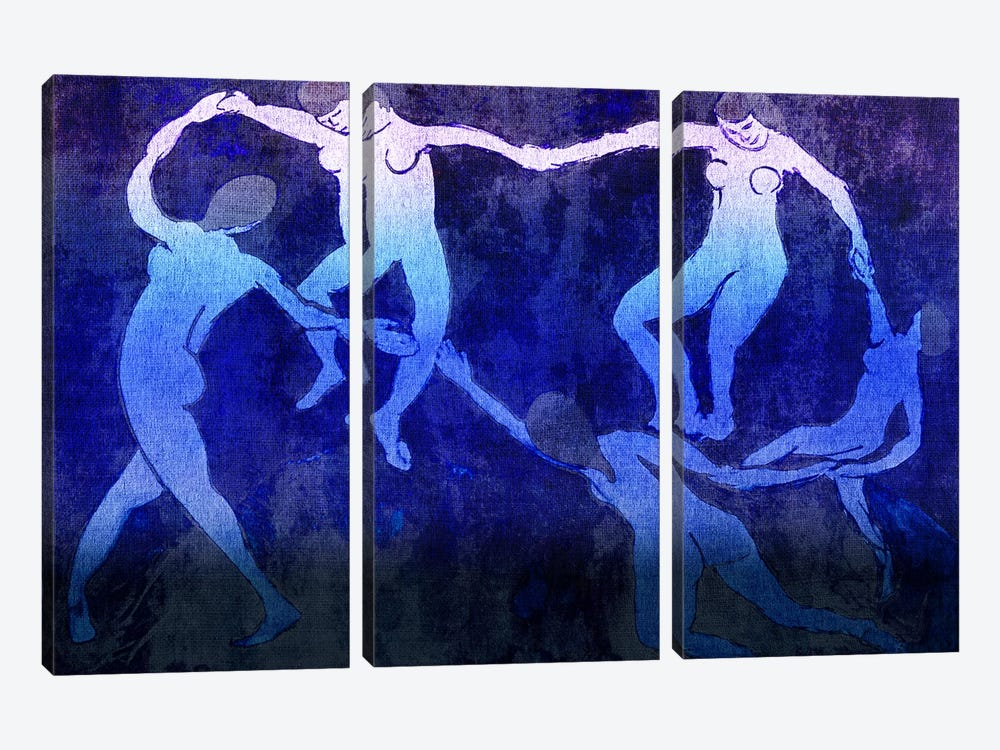 Dance VI by 5by5collective 3-piece Canvas Wall Art