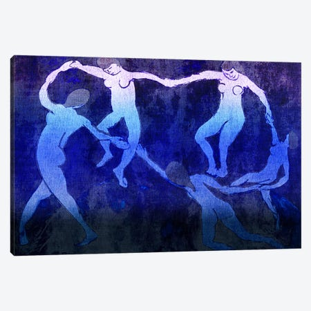 Dance VI Canvas Print #CML13} by 5by5collective Art Print