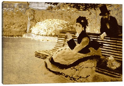 Camille Monet I Canvas Print #CML140