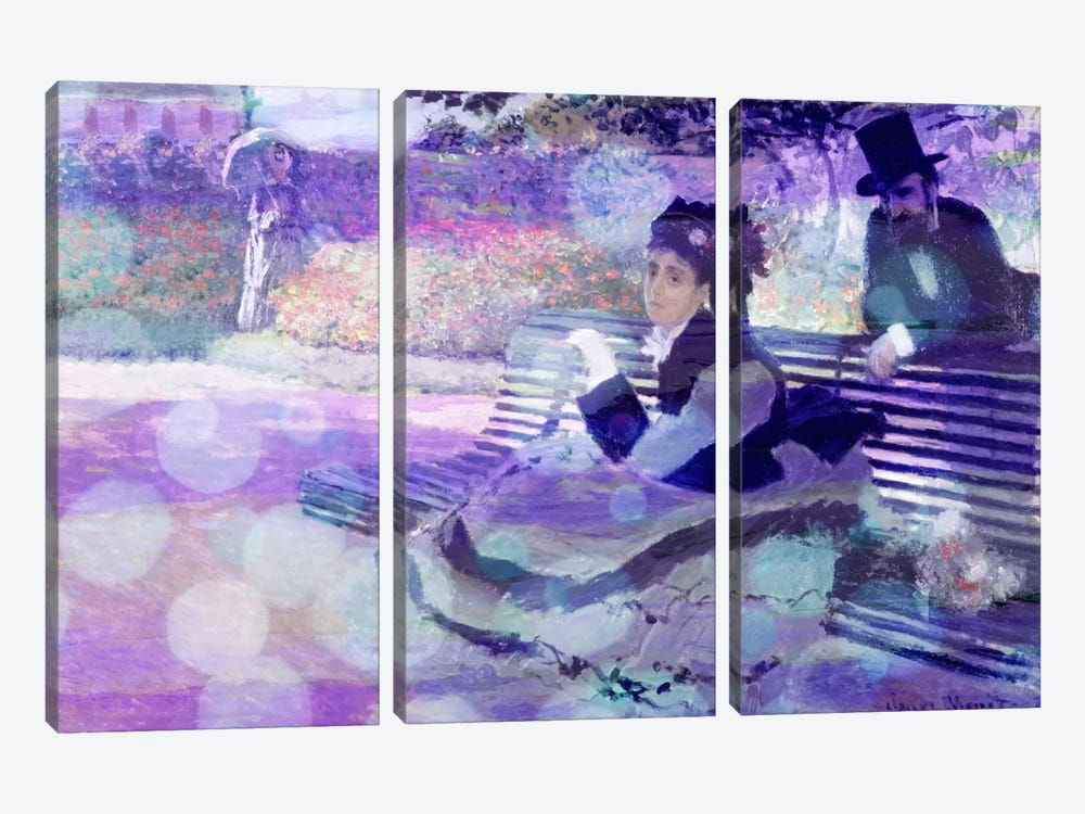 Camille Monet II by 5by5collective 3-piece Canvas Art Print