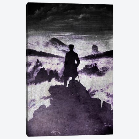 Wanderer above the Sea of Fog I Canvas Print #CML145} by 5by5collective Canvas Art