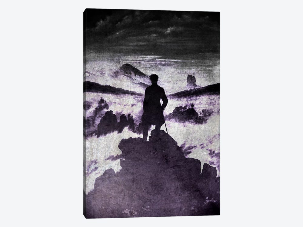 Wanderer above the Sea of Fog I by 5by5collective 1-piece Art Print