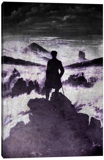 Wanderer above the Sea of Fog I Canvas Art Print