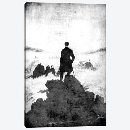 Wanderer above the Sea of Fog II Canvas Print #CML146} by 5by5collective Canvas Wall Art