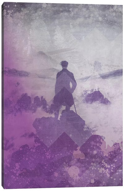 Wanderer above the Sea of Fog III Canvas Print #CML147