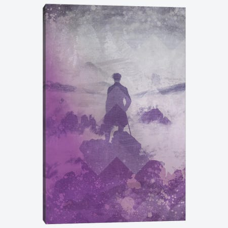 Wanderer above the Sea of Fog III Canvas Print #CML147} by 5by5collective Canvas Art