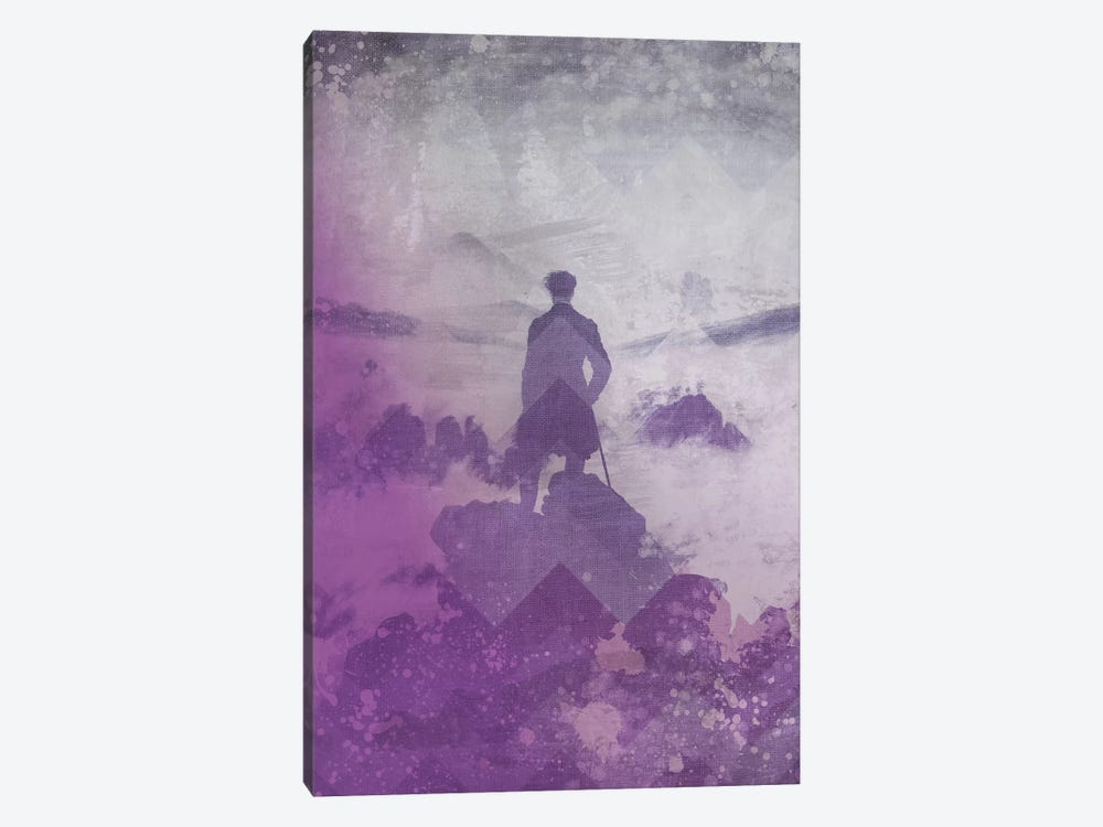 Wanderer above the Sea of Fog III by 5by5collective 1-piece Art Print