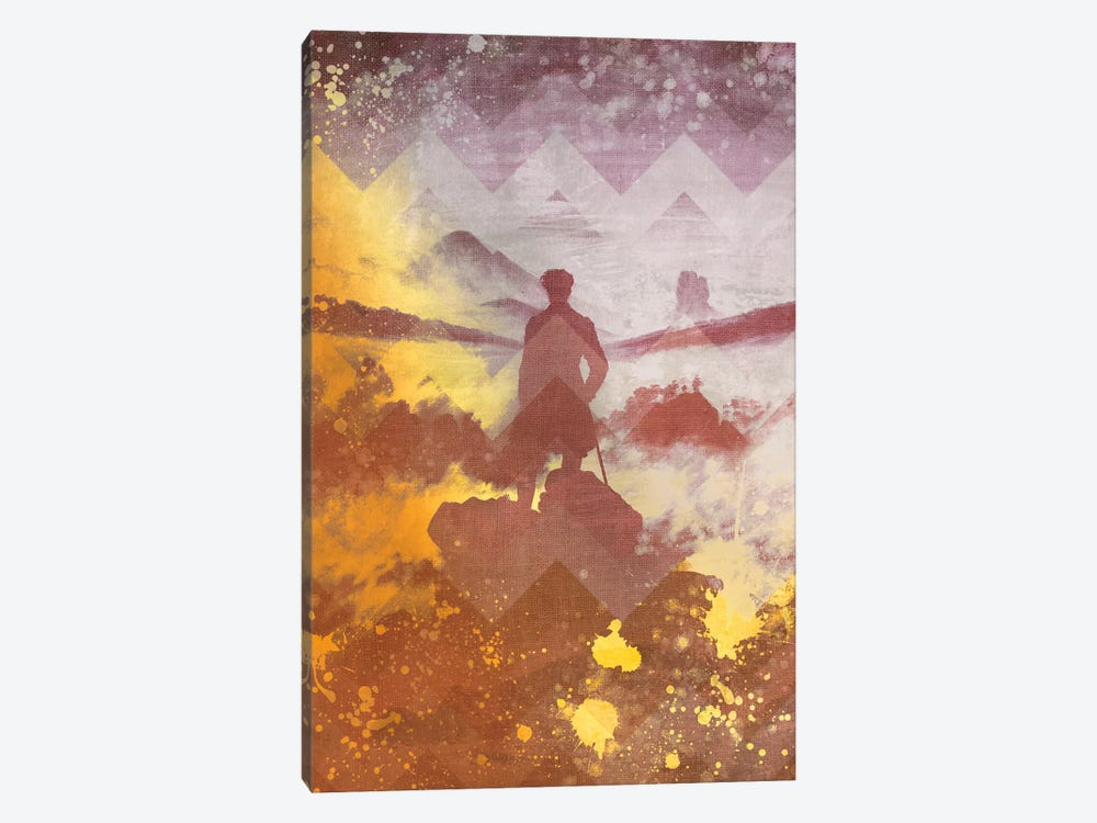 Wanderer above the Sea of Fog IV by 5by5collective 1-piece Canvas Art