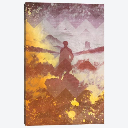 Wanderer above the Sea of Fog IV Canvas Print #CML148} by 5by5collective Art Print
