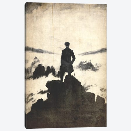 Wanderer above the Sea of Fog V Canvas Print #CML149} by 5by5collective Art Print