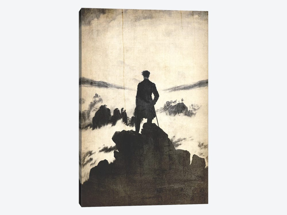 Wanderer above the Sea of Fog V by 5by5collective 1-piece Canvas Print