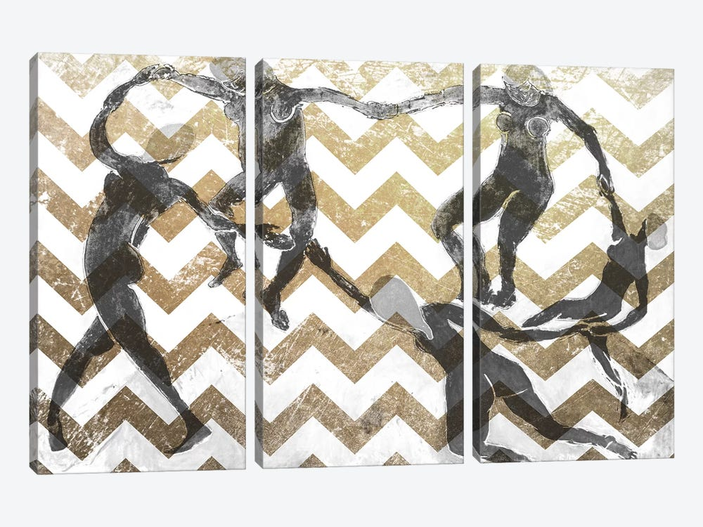 Dance VII by 5by5collective 3-piece Art Print