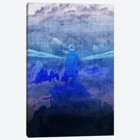 Wanderer above the Sea of Fog VI Canvas Print #CML150} by 5by5collective Canvas Art