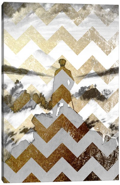 Wanderer above the Sea of Fog VII Canvas Art Print