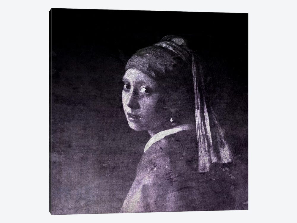 Girl with a Pearl Earring V by 5by5collective 1-piece Canvas Artwork