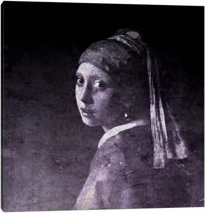 Girl with a Pearl Earring V Canvas Art Print