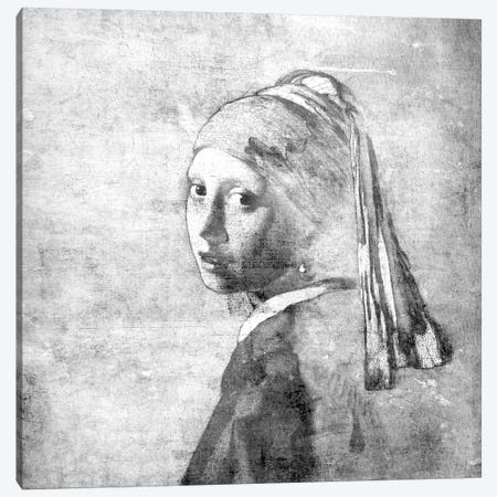 Girl with a Pearl Earring VI Canvas Print #CML160} by 5by5collective Art Print