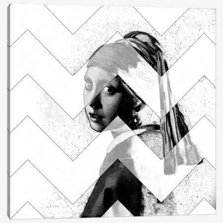 Girl with a Pearl Earring XI Canvas Print #CML165} by 5by5collective Canvas Wall Art