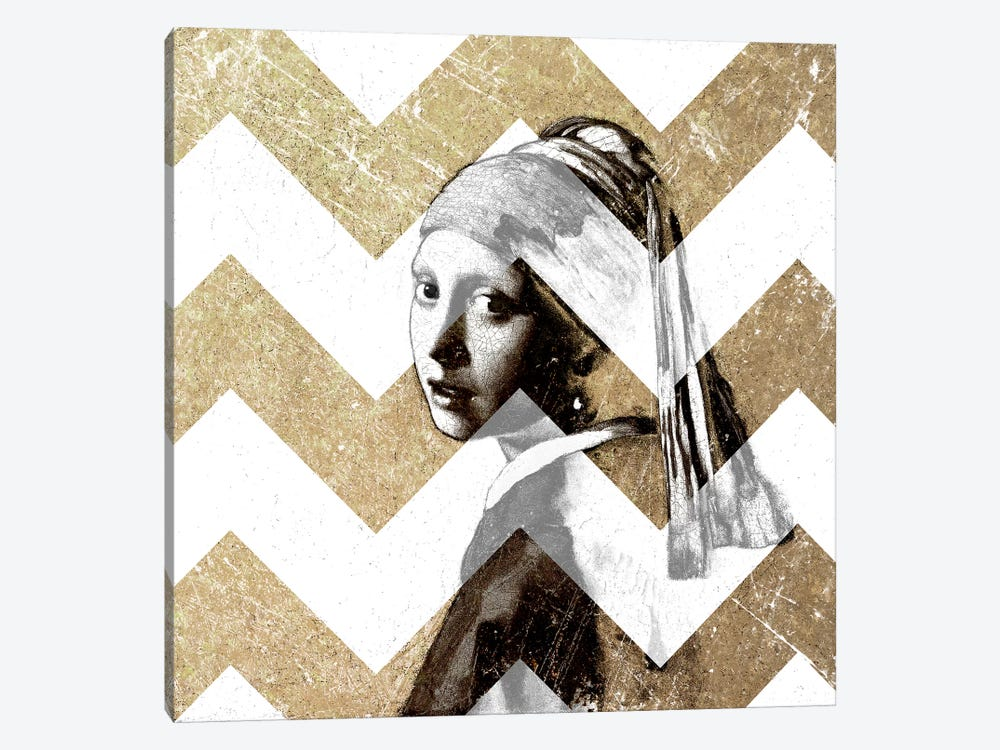 Girl with a Pearl Earring XII by 5by5collective 1-piece Canvas Art