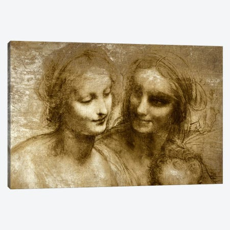 The Virgin and Child I Canvas Print #CML167} by 5by5collective Canvas Artwork