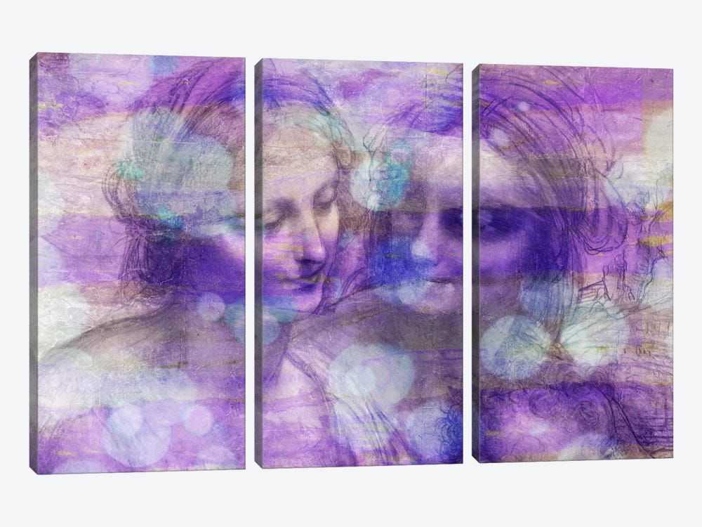 The Virgin and Child II by 5by5collective 3-piece Canvas Art