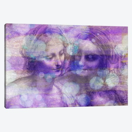 The Virgin and Child II Canvas Print #CML168} by 5by5collective Art Print