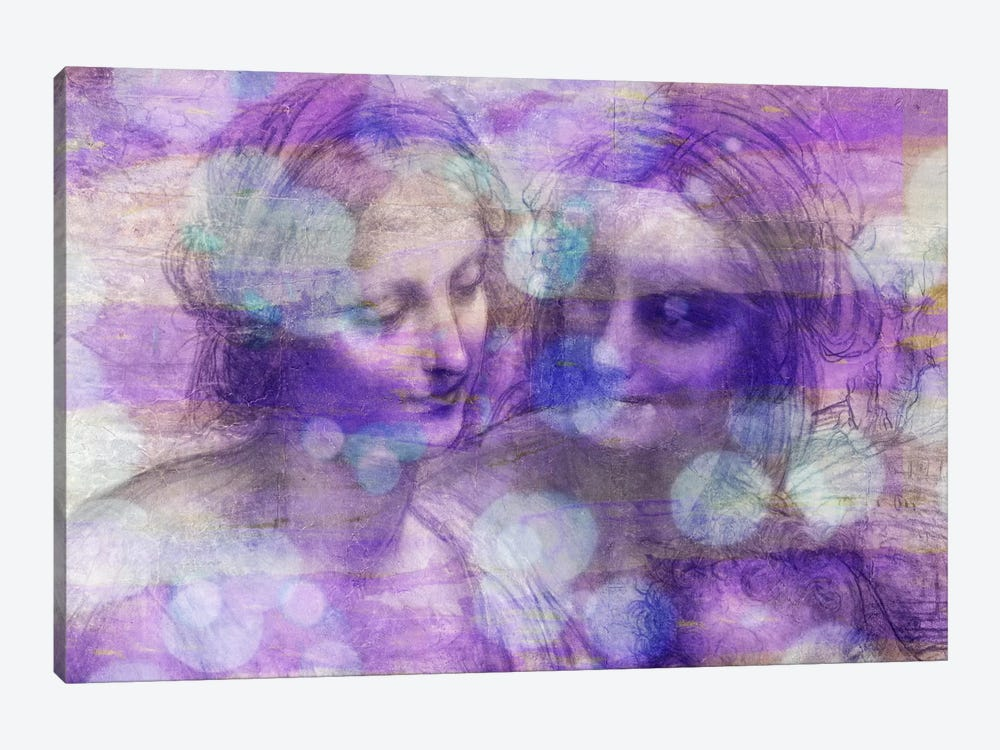 The Virgin and Child II by 5by5collective 1-piece Canvas Wall Art