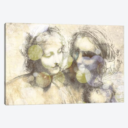 The Virgin and Child III Canvas Print #CML169} by 5by5collective Canvas Art Print