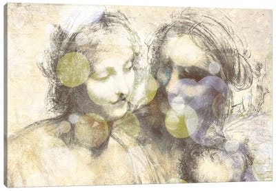 The Virgin and Child III Canvas Print #CML169