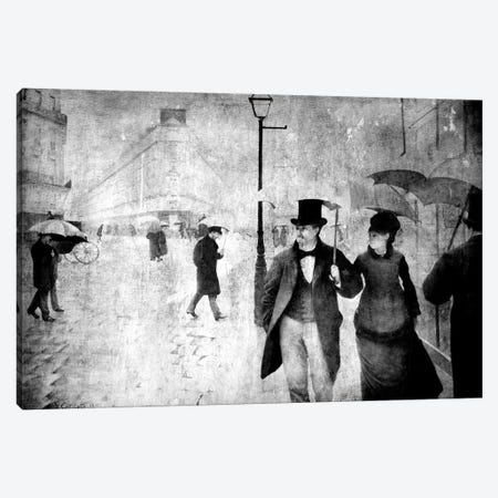 Paris Street II Canvas Print #CML16} by 5by5collective Canvas Art