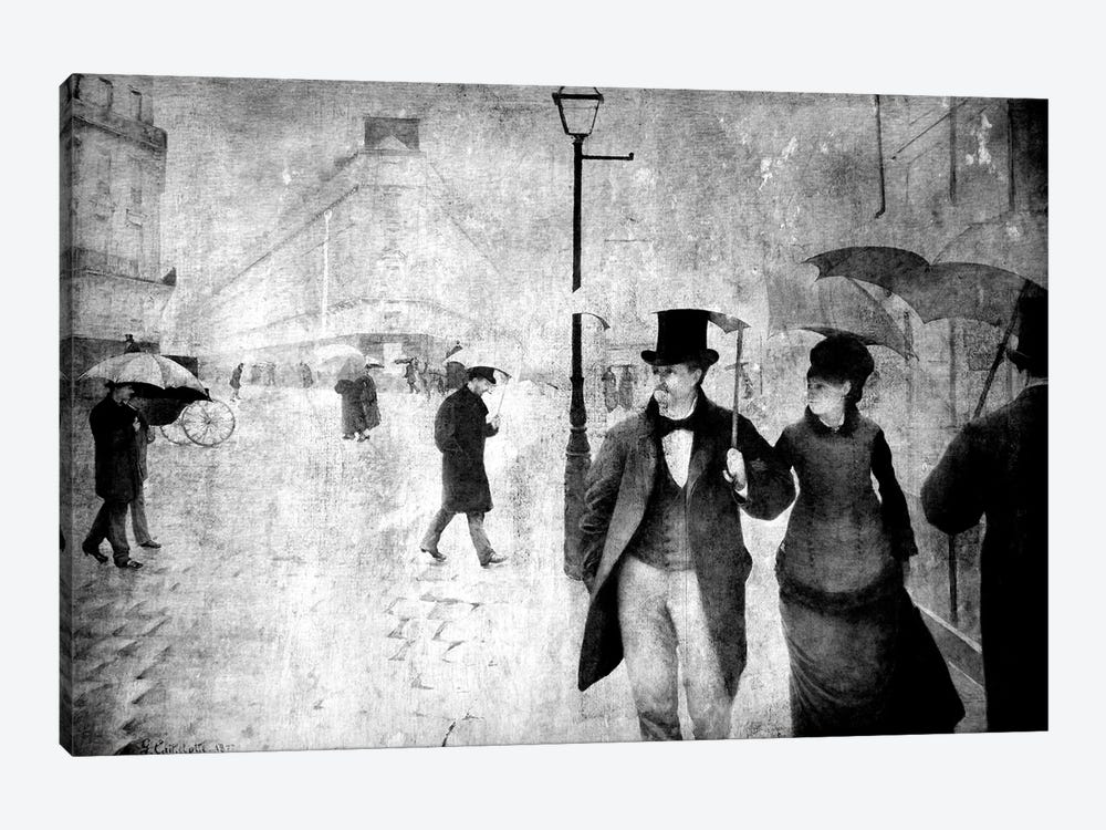 Paris Street II by 5by5collective 1-piece Art Print